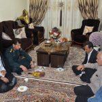 فرمانده انتظامی مسجدسلیمان در دیدار با خانواده شهید قاضی شهنی : خون شهدا بهاي نظم و امنيت نظام مقدس جمهوری اسلامی است