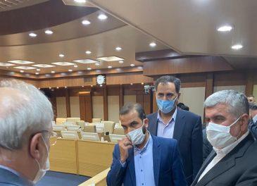 دیدار نماینده مردم مسجدسلیمان لالی هفتکل و اندیکا در مجلس با وزیر بهداشت و درمان و بیان مشکلات، کمبودها و نیازهای حوزه انتخابیه