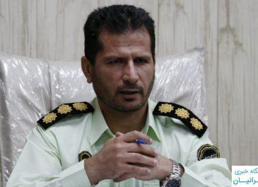 دستگیری سارق سابقه دار با ۲۲ فقره کشف در مسجدسلیمان