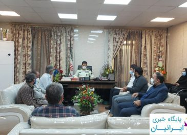 بمناسبت هفته ناجا صورت گرفت؛ دیدار جمعی از اصحاب رسانه و خبرنگاران مسجدسلیمان با فرماندهی انتظامی این شهرستان