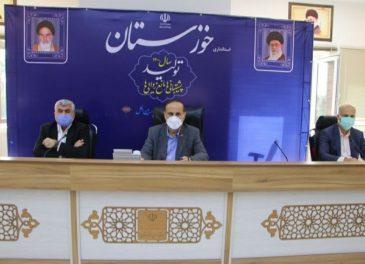با برگزاری نشستی در اُستانداری خوزستان ؛ مشکلات مسجدسلیمان لالی اندیکا و هفتکل بررسی شد